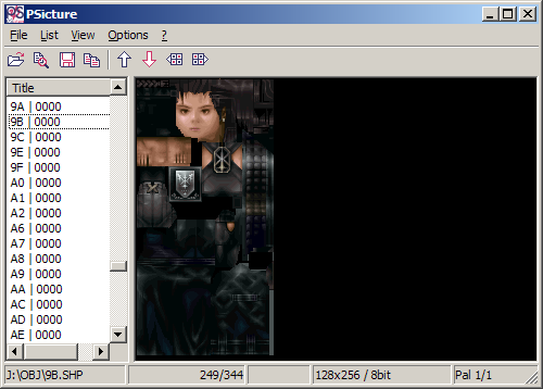 Screenshot of Vagrant Story Plug-in For PSicture